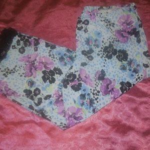 New Floral Capri Sleepwear